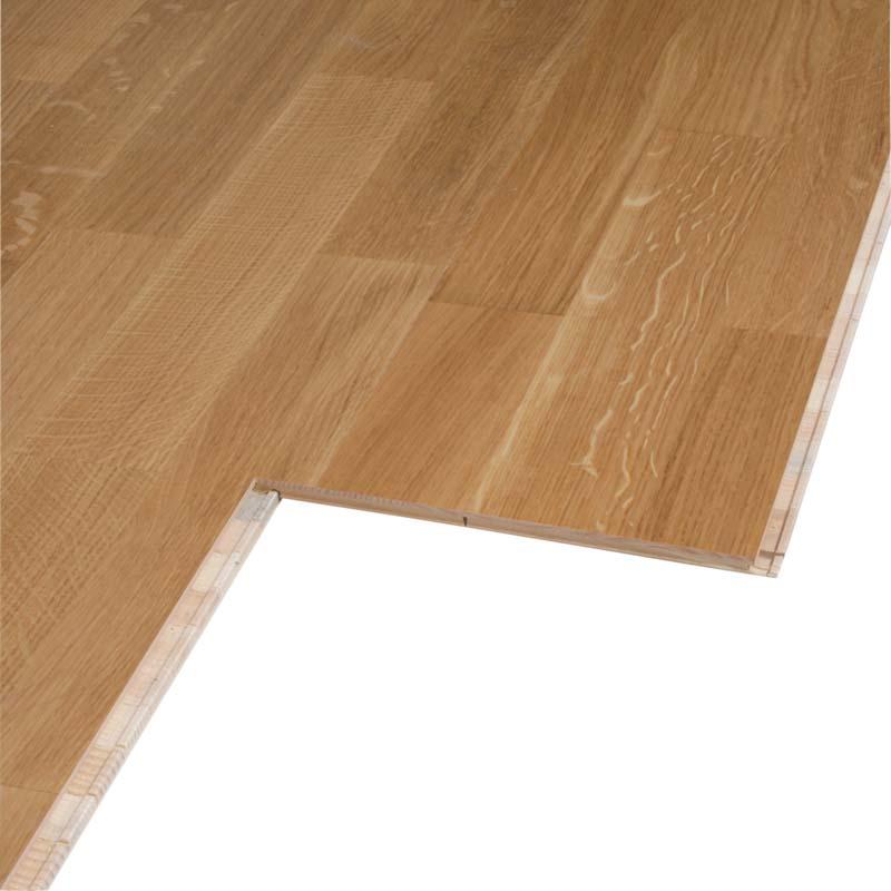 test bodenbel ge holz parkett panparket klickparkett eiche 3 stab natur gut. Black Bedroom Furniture Sets. Home Design Ideas