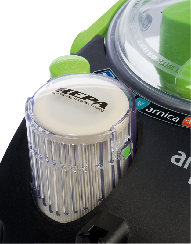 Test Staubsauger  Arnica Bora 4000  sehr gut -> Staubsauger Mit Wasser