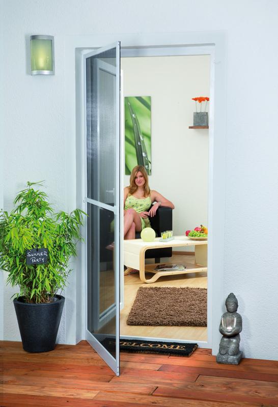 test zubeh r haustechnik hecht insektenschutz f r t ren. Black Bedroom Furniture Sets. Home Design Ideas